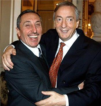 Jorge Obeid y N%C3%A9stor Kirchner 20060818