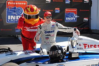 Josef Newgarden - Josef Newgarden clinching the Indy Lights Championship