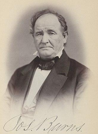 Ohio's 15th congressional district - Image: Joseph Burns (politician) ppmsca.26746