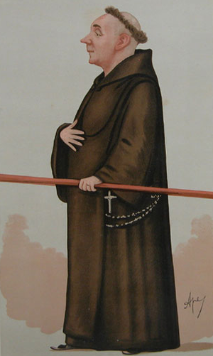Capel-y-ffin - Father Ignatius, by Carlo Pellegrini, 1887