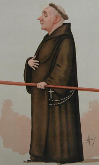 Capel-y-ffin - Father Ignatius, by Carlo Pellegrini, 1887