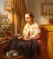 Josephus Laurentius Dyckmans - The workwoman.png