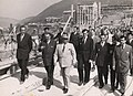 Josip Broz Tito, obilazak HE Đerdap I tokom puštanja u rad 1972. godine.jpg