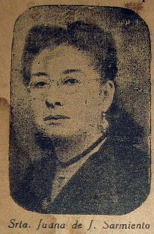 Juana de J Sarmiento23 de junio de 1899.jpg