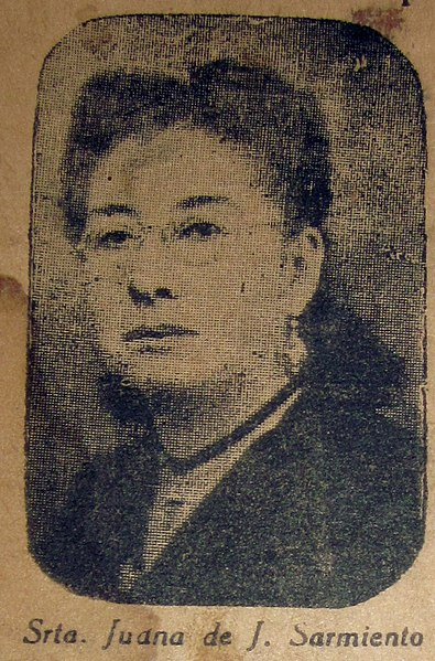 Archivo:Juana de J Sarmiento23 de junio de 1899.jpg