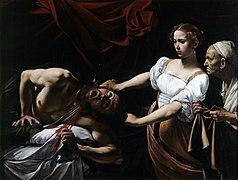 Judit y Holofernes, por Caravaggio