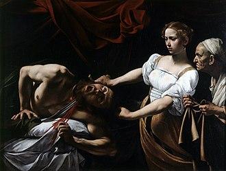 Judith Beheading Holofernes (Caravaggio) - Image: Judit y Holofernes, por Caravaggio
