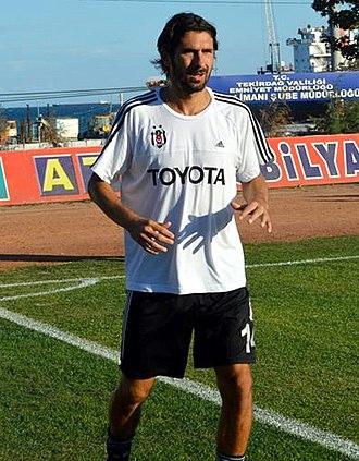 Julien Escudé - Escudé training with Beşiktaş in 2013