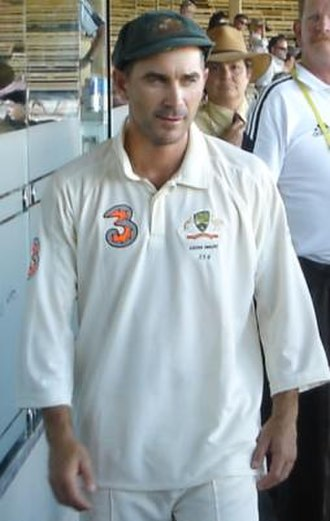 Justin Langer - Langer after the 2nd Test vs England, 5 December 2006