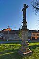 Kříž na křižovatce ulic Novosady a Tyršova, Němčice nad Hanou, okres Prostějov.jpg