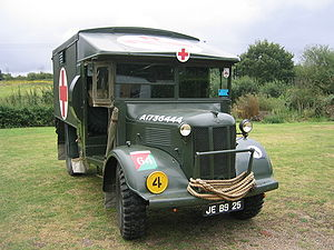 Austin K2/Y - An original fully restored Austin K2/Y ambulance