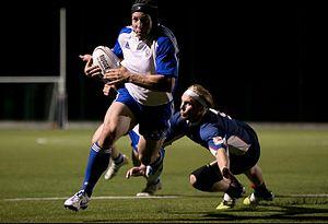 Kansas City Blues (USA Rugby) - KC Blues Flanker Nate Conkey.