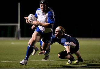 Kansas City Blues (USA Rugby) - KC Blues Flanker Nate Conkey.