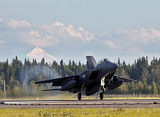 Republic of Korea Air Force - A South Korean Air Force F-15K participates in 'Red Flag Alaska'
