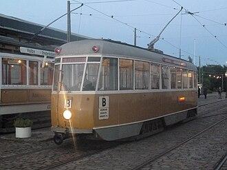 Knud V. Engelhardt - Engelhardt's curved tram designs were widely adopted