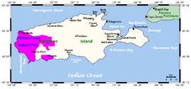 Map Of Australia Kangaroo Island.Island Beach South Australia Wikipedia