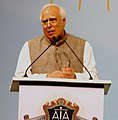 Kapil Sibal addressing at the inauguration of the 150th anniversary of the Advocates Association of Western India, in Mumbai on February 08, 2014.jpg