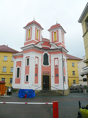 Kladno - Chapel of St. Florian in the pedestrian zone