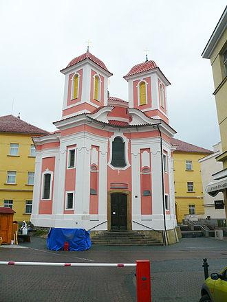 Kladno - Chapel of St. Florian in the pedestrian zone