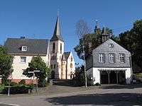 Kappel, altes Backhaus en kerk 2009-08-04 09.44.JPG