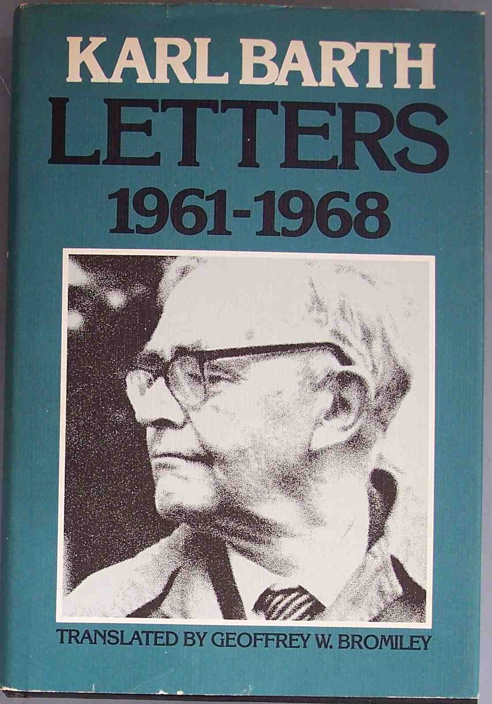 Karl Barth Letters 1961-1968