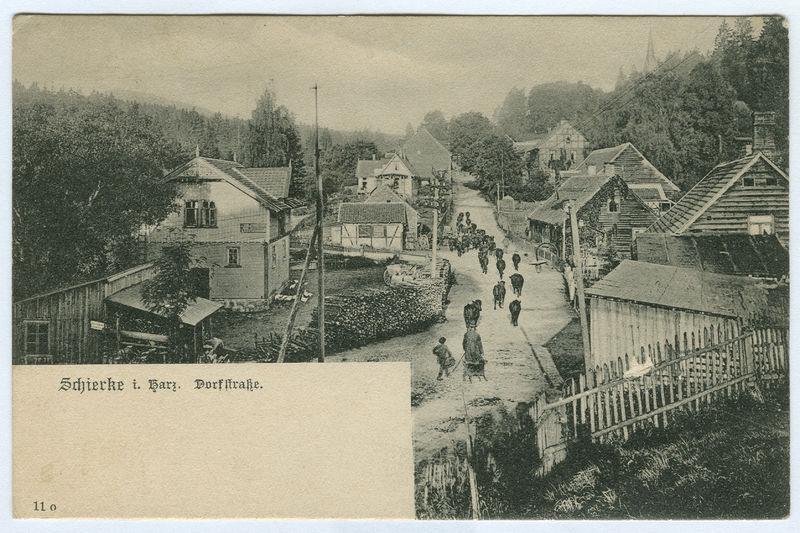 File:Karl F. Wunder PC 0011o Schierke i. Harz. Dorfstraße. Ansichtsseite.jpg
