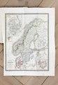 Karta över skandinavien - Skoklosters slott - 85940.tif