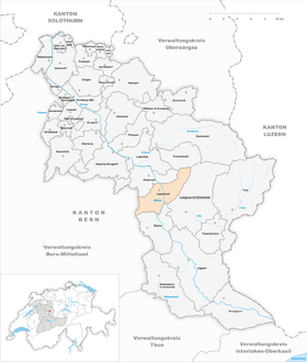 Map of Lauperswil