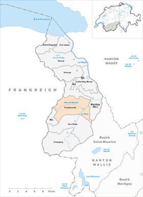 280px-Karte_Gemeinde_Troistorrents_2007 Map on