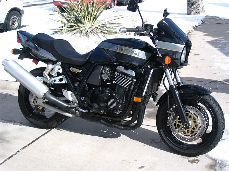 Kawasaki Zxr Black And White