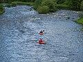 Kayaking at Yair - geograph.org.uk - 502551.jpg