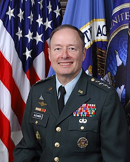 Keith B. Alexander official portrait