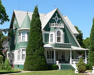 Superior, Nebraska - The Kendall House in Superior, built in 1898, is generally open for tours during Superior's Victorian Festival