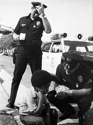 Adam-12 - Reed and Malloy comfort a boy whose sister was the victim of a hit and run driver.