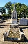 Begraafplaats Elisabethstraat: grafmonument van gebroeders Franciscus (Vught 1830-1894) en Johannus Jonkers (Vught 1858-1899)