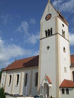 Kettershausen Pfarrkirche außen