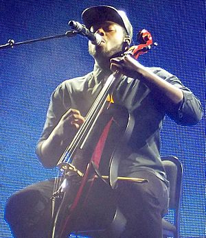 Kevin Olusola - Olusola performing in 2015 at a Pentatonix concert in Barcelona