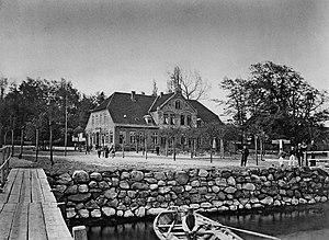 Ausflugslokal Wilhelminenhöhe um 1867