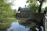 Kierspe Rhadermühle - Alter Mühlenweg - Haus Rhade 01 ies.jpg
