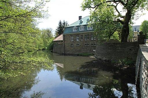 Kierspe Rhadermühle Alter Mühlenweg Haus Rhade 01 ies