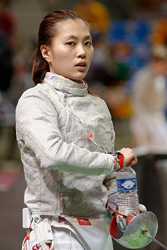 Kim Ji-yeon - Image: Kim Ji yeon 2014 Orleans Sabre Grand Prix t 151932