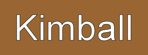Kimball station - Kimball destination sign