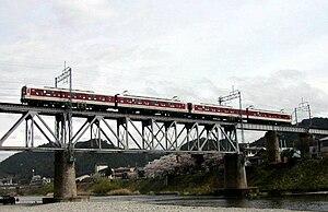 Yoshino Line - Image: Kintetsu Series 6400 Yoshino