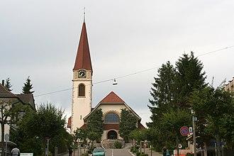 Wallisellen - Protestant church of Wallisellen