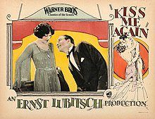Description de l'image Kiss Me Again lobby card.jpg.