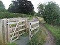 Kissing gate, Lyth Hill - geograph.org.uk - 1614213.jpg
