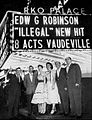 Kitty Wells Johnnie and Ruby Wright Jack Anglin Roy Acuff RKO Palace New York 1955.jpg