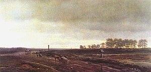 Mikhail Clodt von Jürgensburg - Image: Klodt Highway In Autimn
