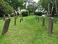 Kloster, Inselfriedhof, alte Grabsteine, 2019-06-11 ama fec.JPG