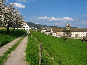 Fahr monastery wikivividly regensberg family fahr abbey in the limmat valley fandeluxe